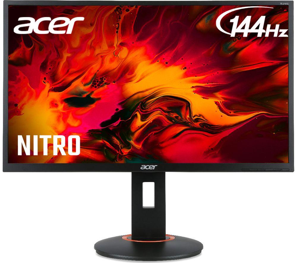 ACER XF240Hbmjdpr Full HD 24´+¢ TN LCD Gaming Monitor - Black