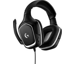 LOGITECH G332 SE Gaming Headset - Black & White