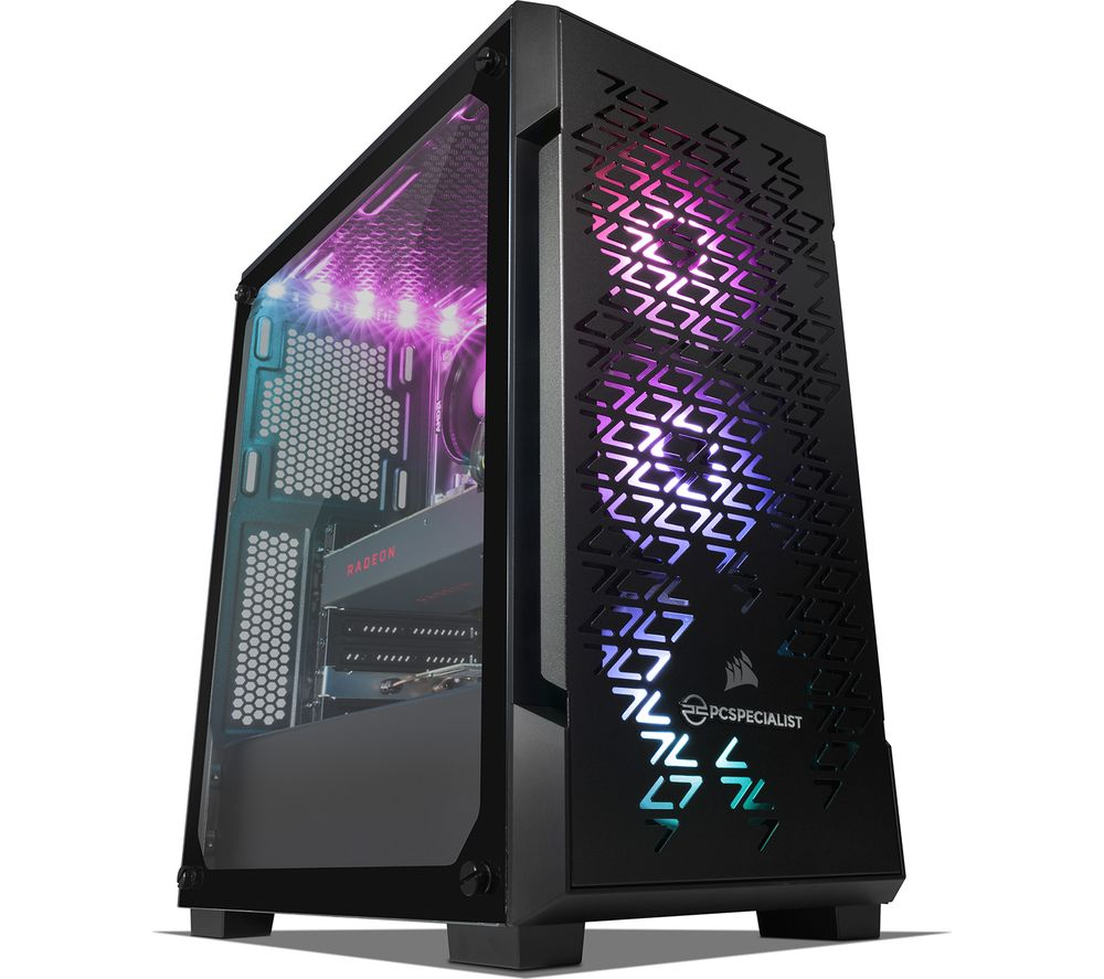 PC SPECIALIST Tornado R5 NV AMD Ryzen 5 RX 5700 Gaming PC - 2 TB HDD & 256 GB SSD