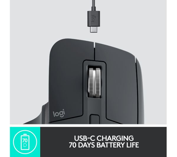 Logitech MX Master 3 Wireless Mouse with USB-C quick charge | Buy Now – TPS  Technologies