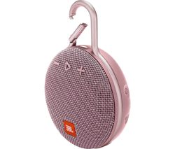 JBL Clip 3 CLIP3PINK Portable Bluetooth Speaker - Pink