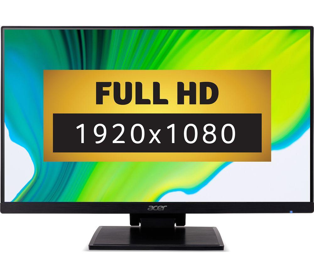 """ACER UT241Y Full HD 23.8"""" IPS Monitor - Black"""