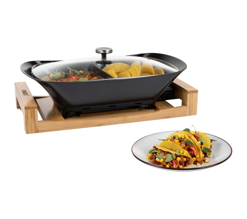 PRINCESS Multi Cook Pure Worktop Cooker - Black