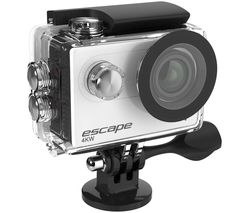 Escape 4K Ultra HD Action Camera - Silver & Black