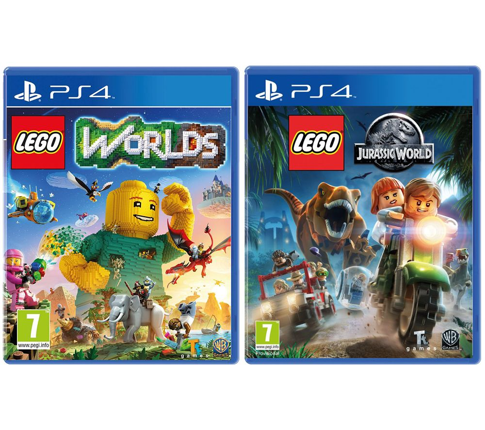PLAYSTATION LEGO Worlds & Jurassic World Bundle