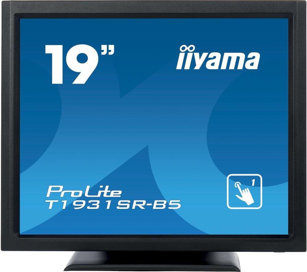 "IIYAMA ProLite T1931SR-B5 19"" LCD Touchscreen Monitor - Black"