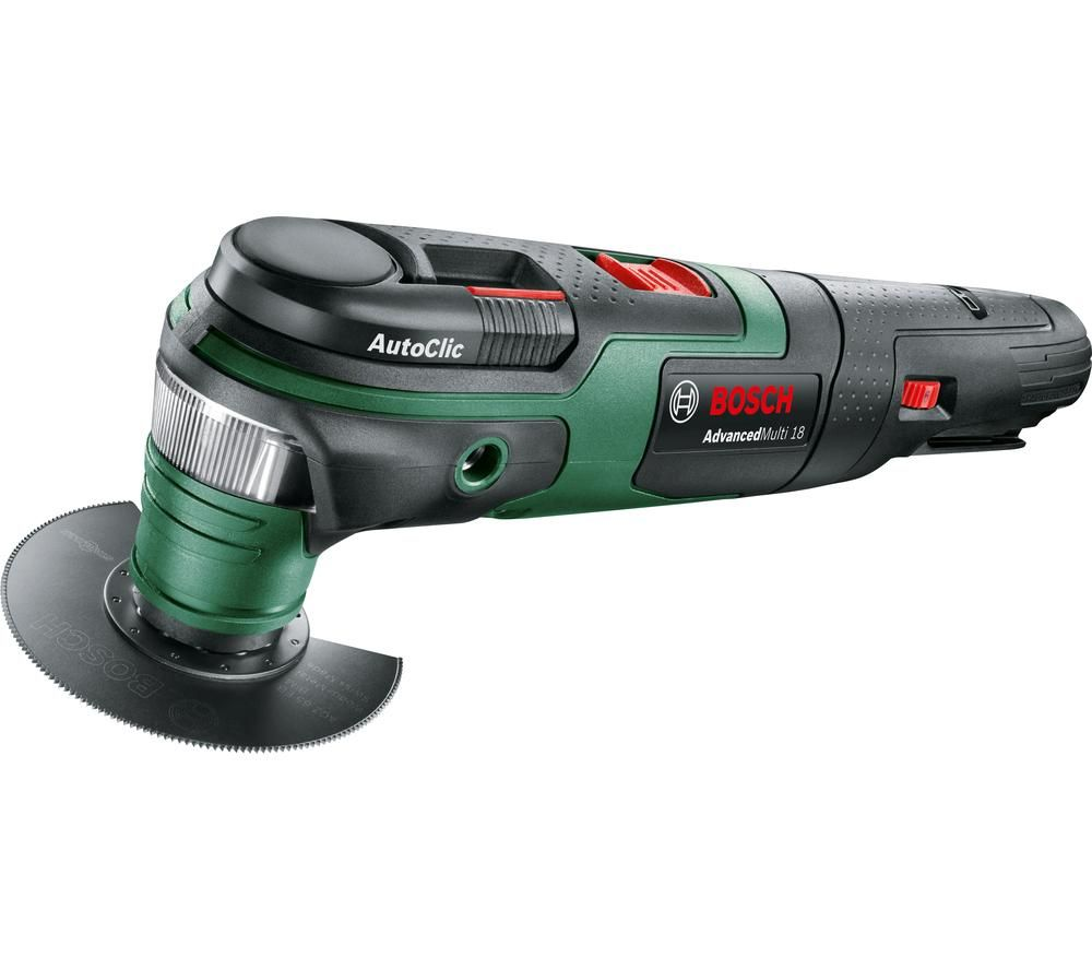 BOSCH AdvancedMulti 18 Oscillating Multi-Tool - Black & Green, Black