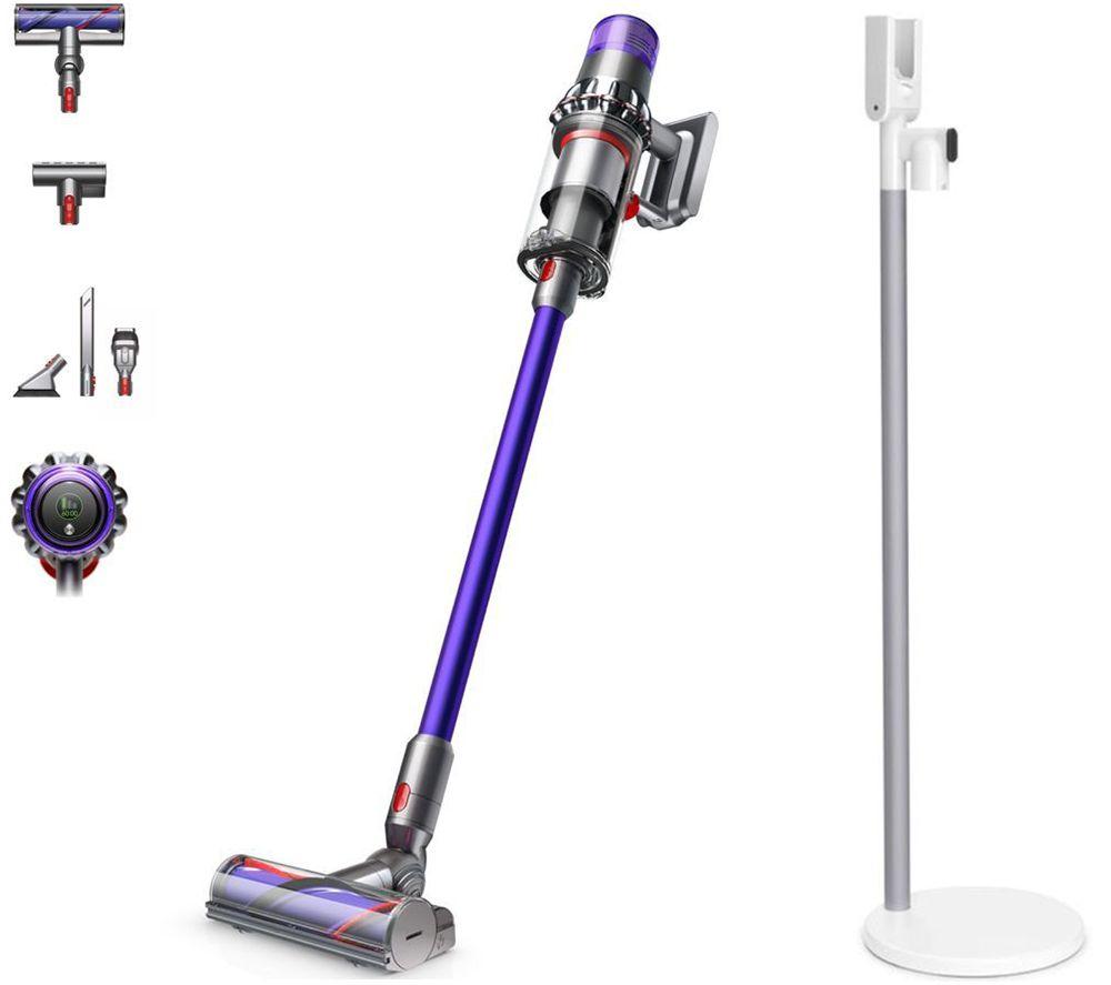 DYSON V11 Torque Drive Cordless Vacuum Cleaner & V11 Floor Dock Bundle - Iron