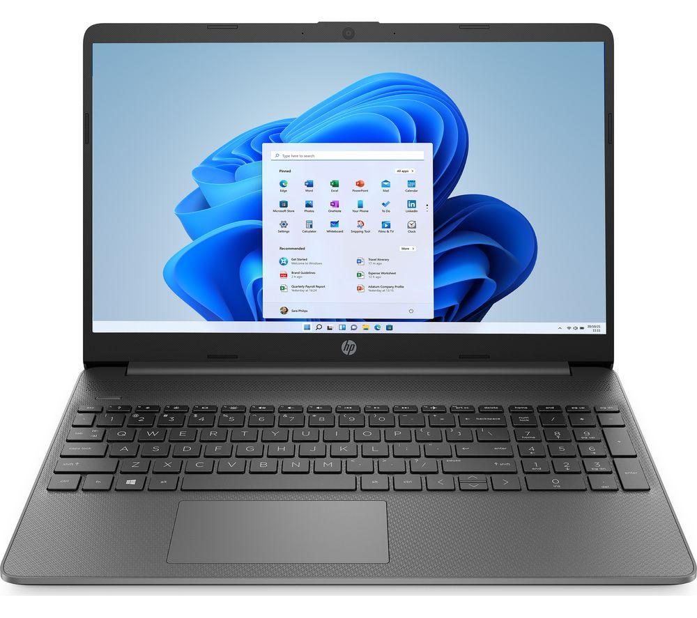 "HP 15s-eq1521sa 15.6"" Laptop - AMD A3020e, 128 GB SSD, Black"