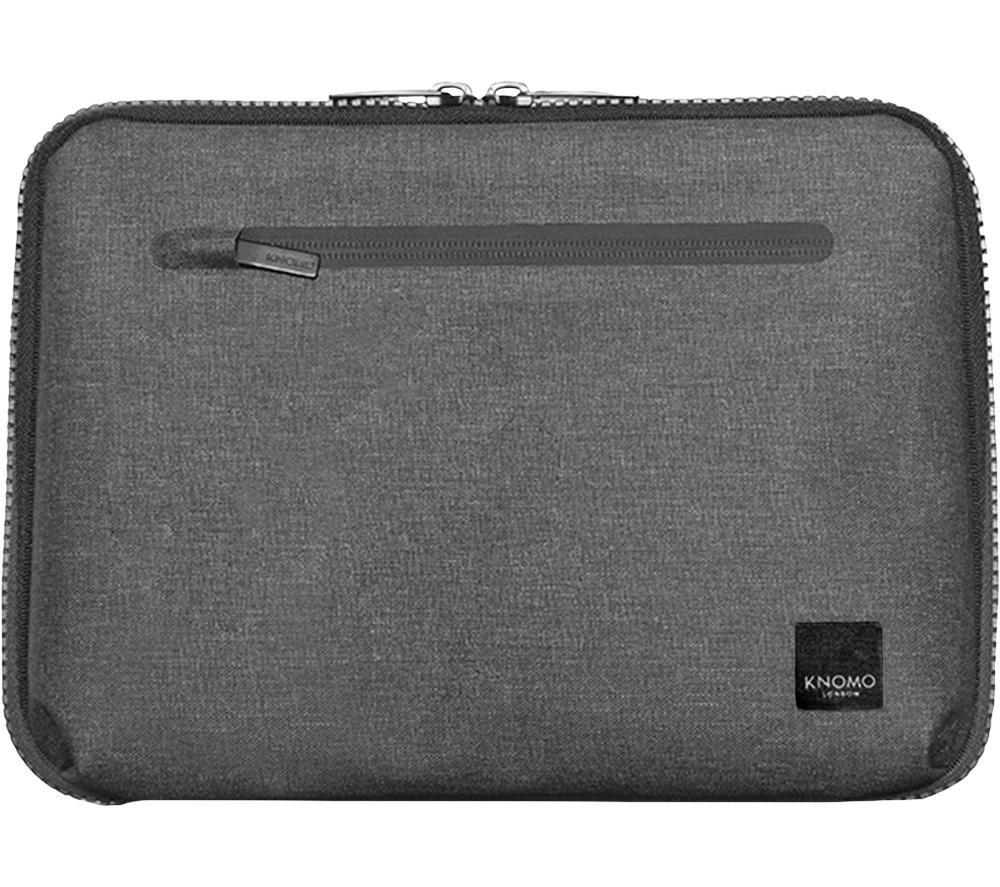 """Image of KNOMO Thames Knomad Organiser 13"""" Laptop Sleeve - Grey, Grey"""