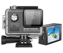 BlackHawk+ 4K Ultra HD Action Camera - Black
