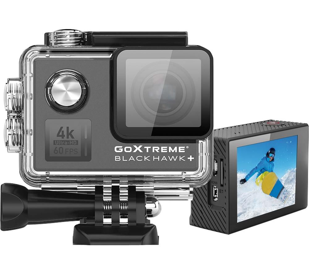 GOXTREME BlackHawk+ 4K Ultra HD Action Camera - Black