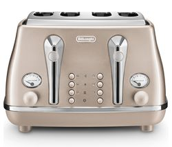 Icona Metallics CTOT4003.BG 4-Slice Toaster - Gold