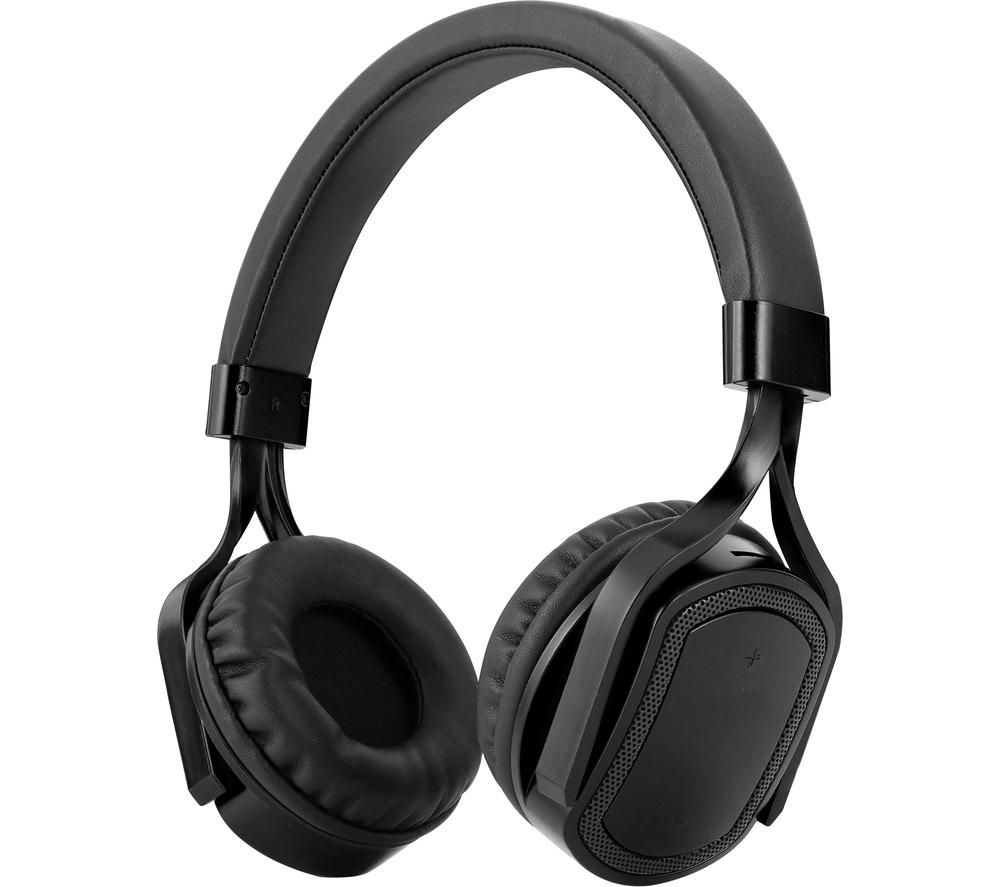 AKAI A61042G Wireless Bluetooth Headphones - Grey, Grey