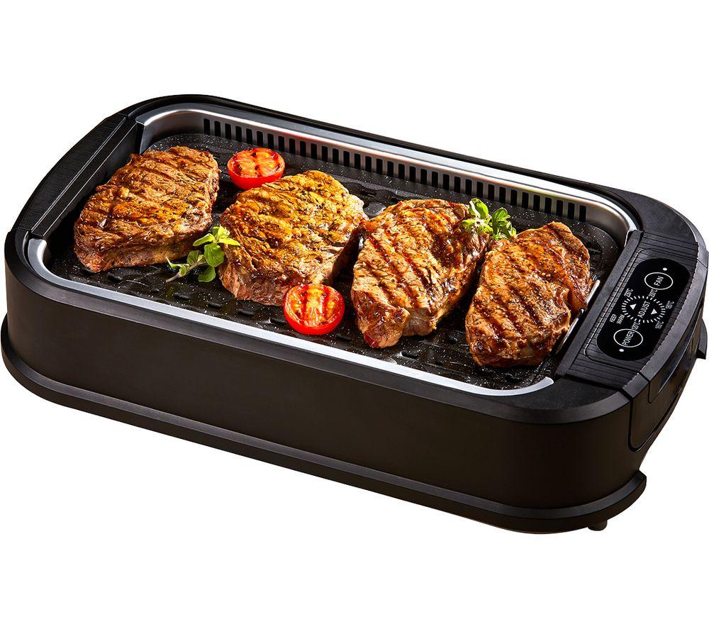 DREW & COLE Power Air Smokeless Grill - Black
