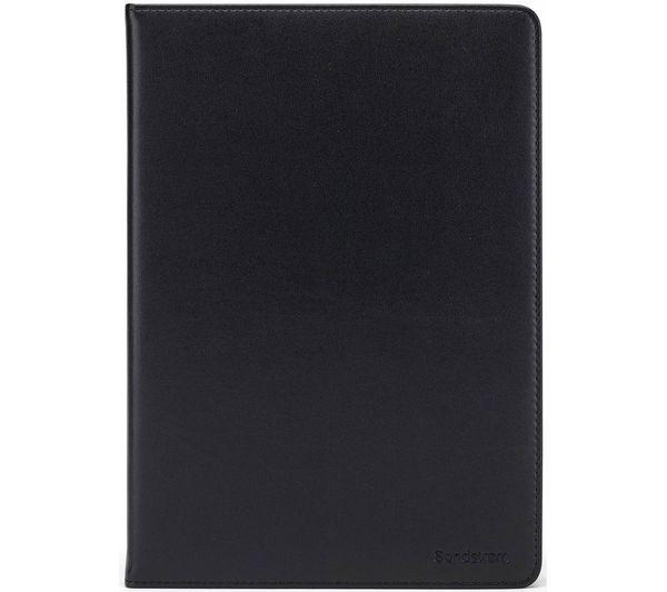 """Image of SANDSTROM S10UTB21 10.5"""" Leather Tablet Case - Black"""