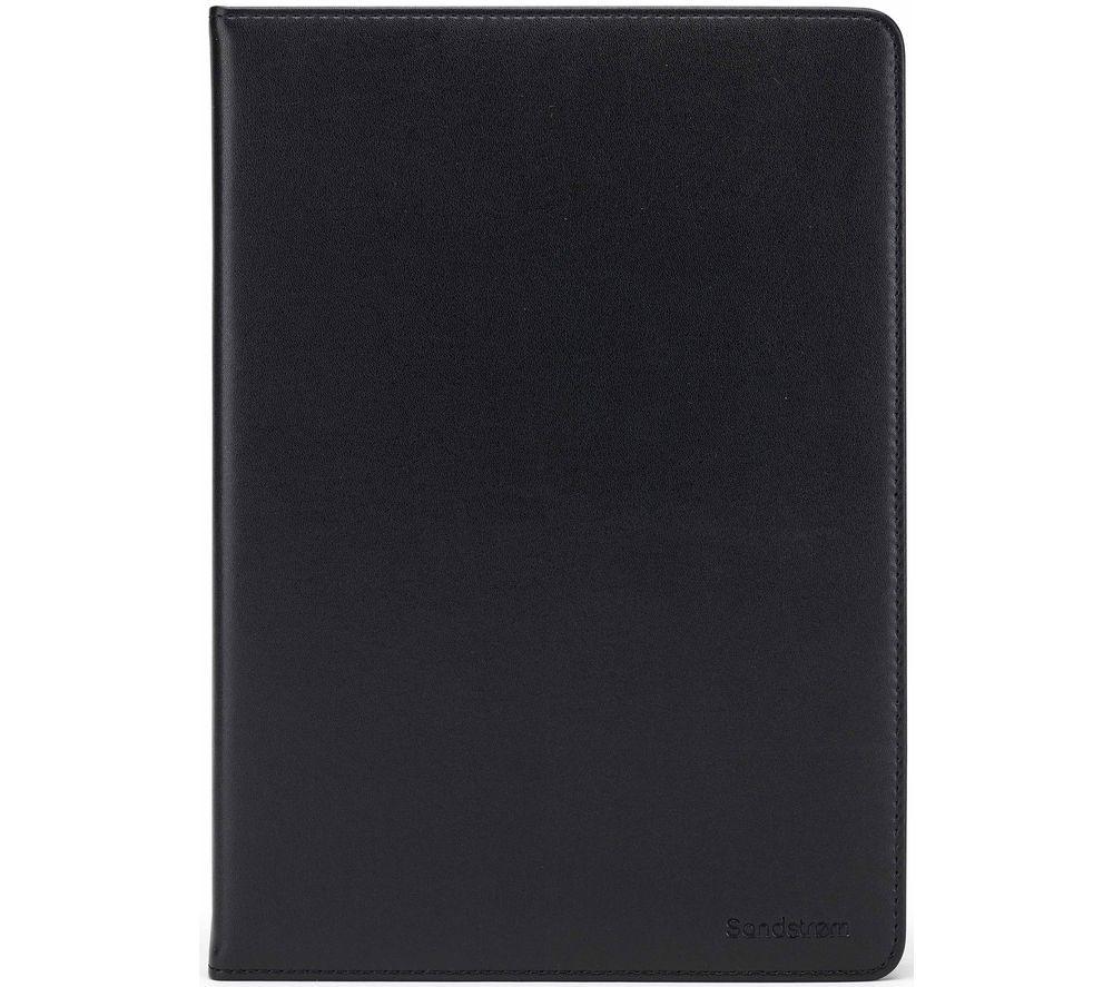 "SANDSTROM S10UTB21 10.5"" Leather Tablet Case - Black"