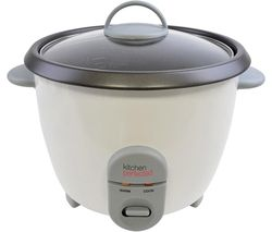 KitchenPerfected E3312 Rice Cooker - White