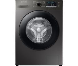 ecobubble WW80TA046AX/EU 8 kg 1400 Spin Washing Machine - Graphite