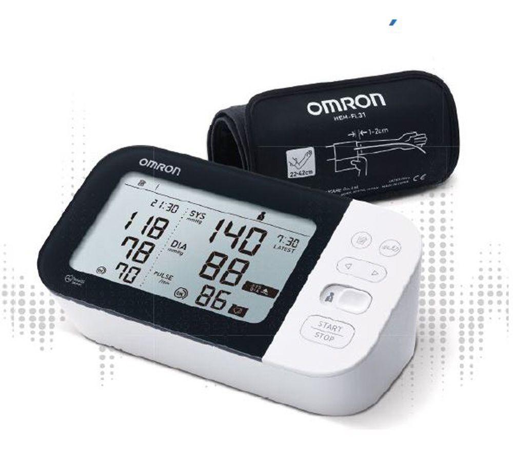 OMRON M7 Intelli IT HEM-7361-EBK Smart Upper Arm Blood Pressure Monitor