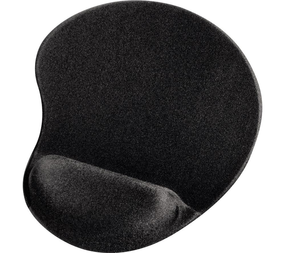 Image of HAMA Ergonomic 54779 Mouse Mat - Black, Black
