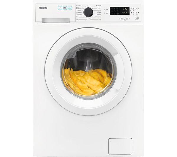 ZANUSSI AutoAdjust ZWD86SB4PW 8 kg Washer Dryer - White