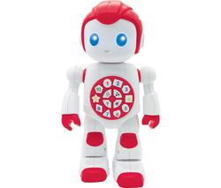 Powerman Educational Robot - White & Red