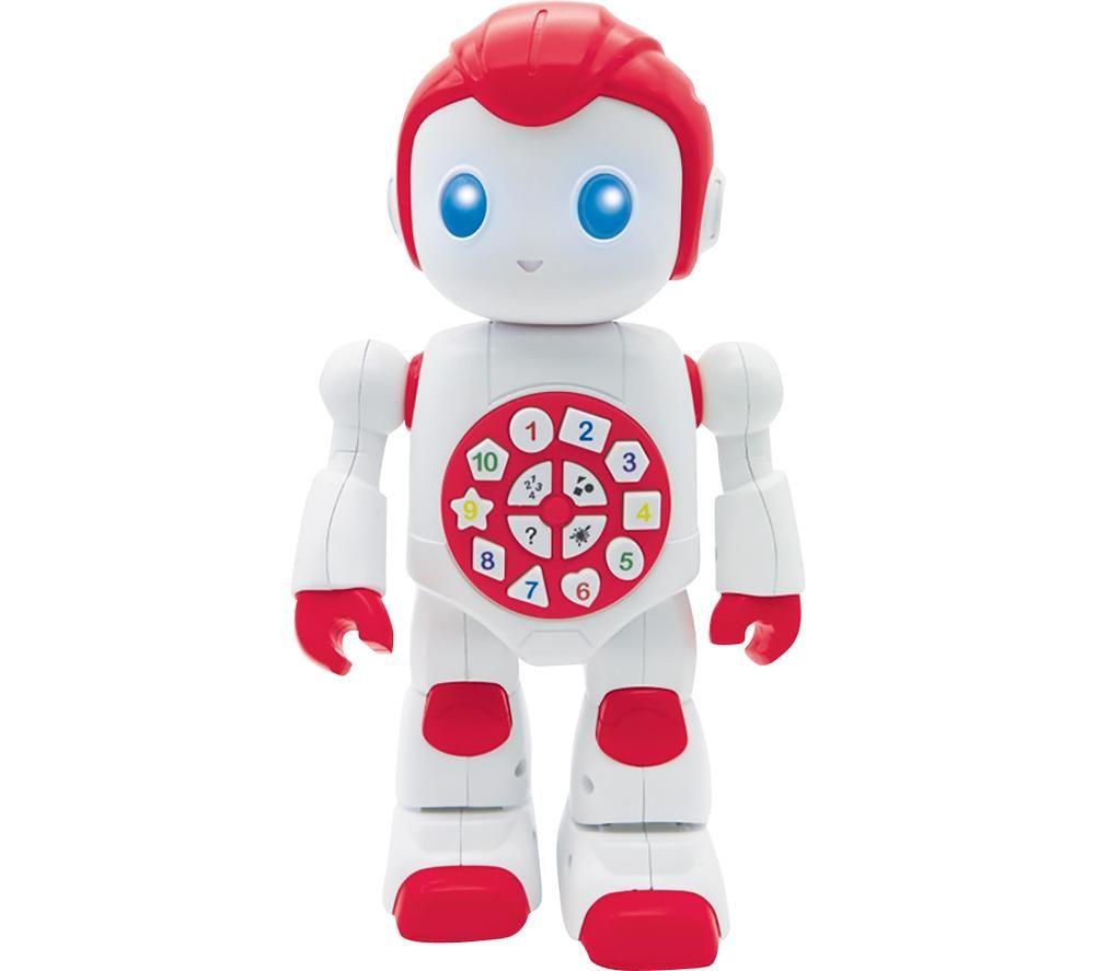LEXIBOOK Powerman Educational Robot - White & Red, White