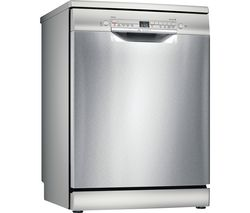 Serie 2 SMS2HVI66G Full-size WiFi-enabled Dishwasher - Stainless Steel