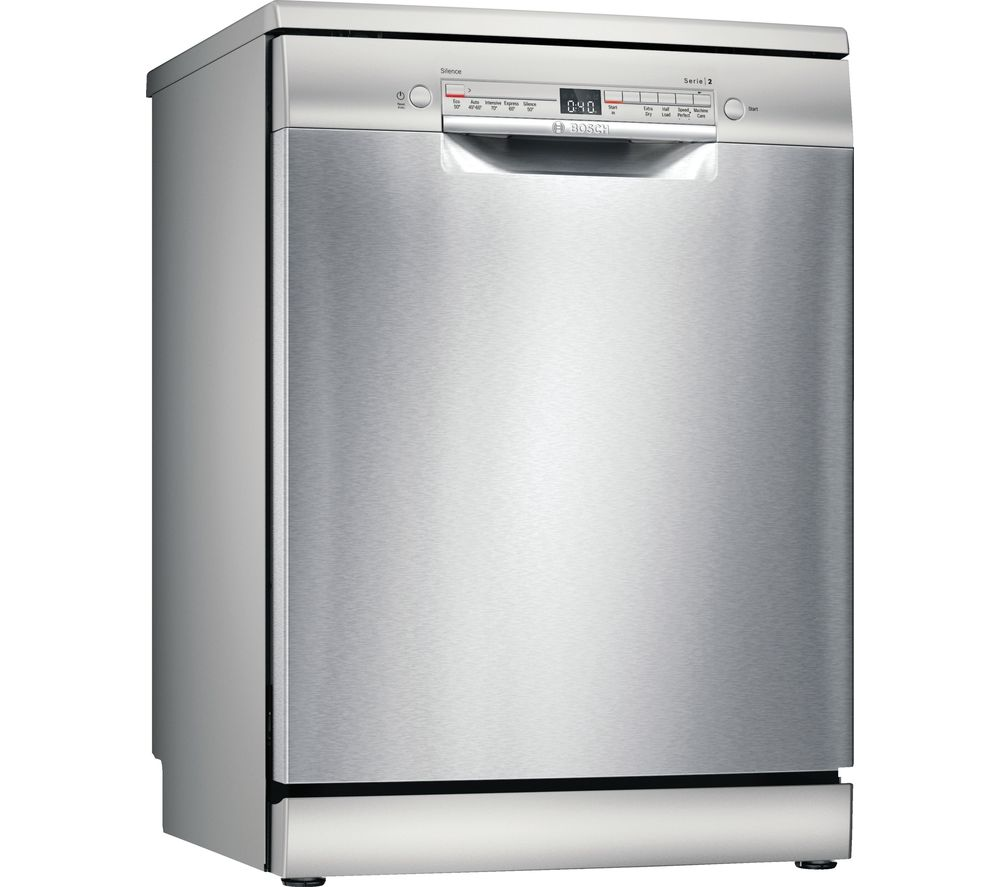 BOSCH Serie 2 SMS2HVI66G Full-size WiFi-enabled Dishwasher - Stainless Steel
