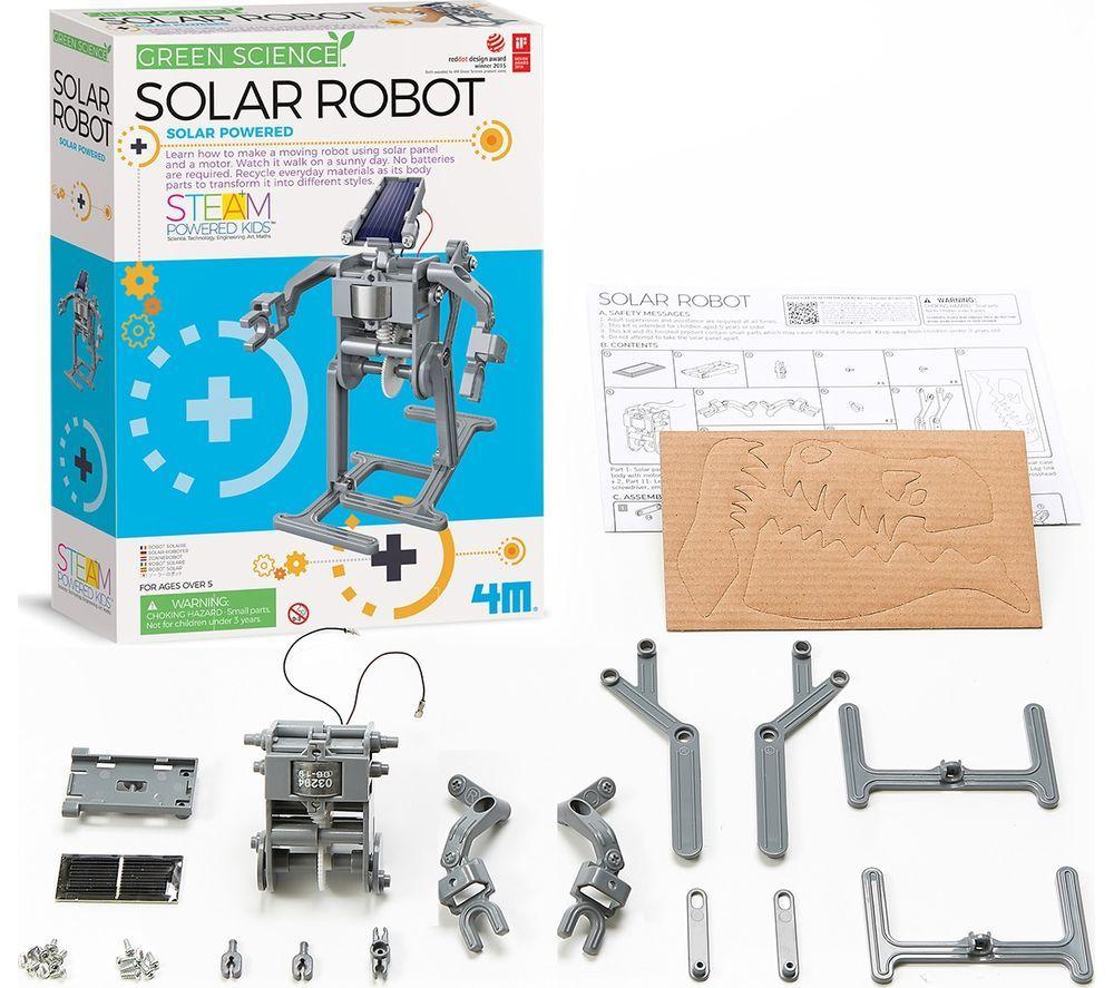 GREEN SCIENCE Solar Robot, Green