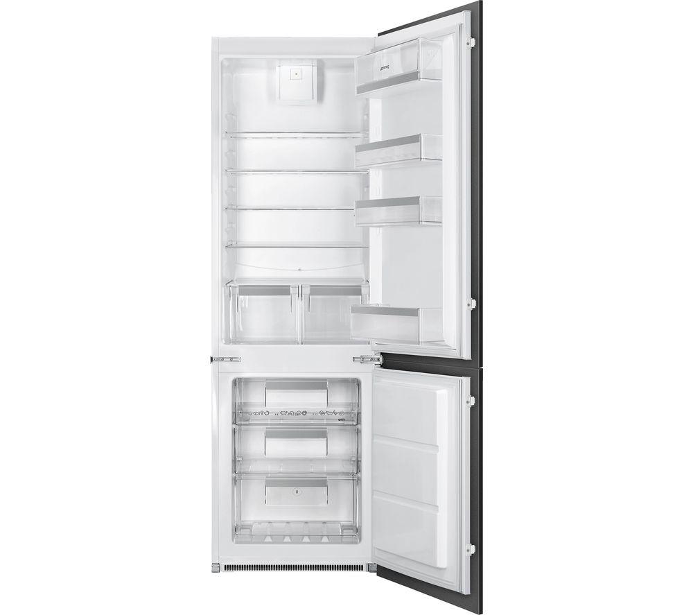 SMEG UKC8173N1F Integrated 70/30 Fridge Freezer – Sliding Hinge