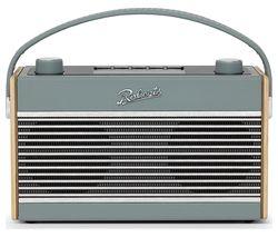 Rambler Portable DAB+/FM Retro Bluetooth Radio - Duck Egg