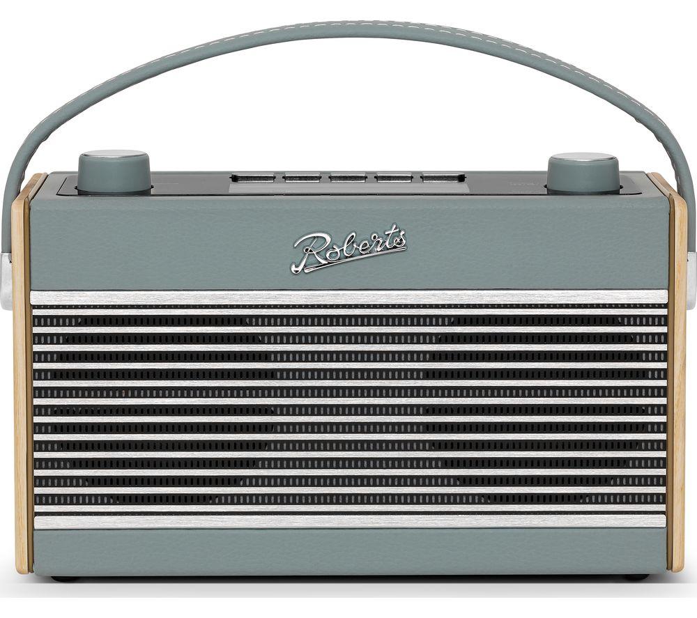 ROBERTS Rambler Portable DAB+/FM Retro Bluetooth Radio - Duck Egg