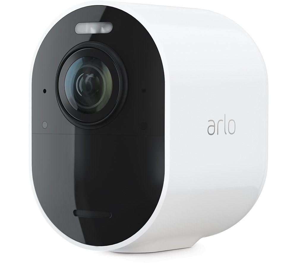 ARLO Ultra 2 4K Ultra HD WiFi Add-on Security Camera - White