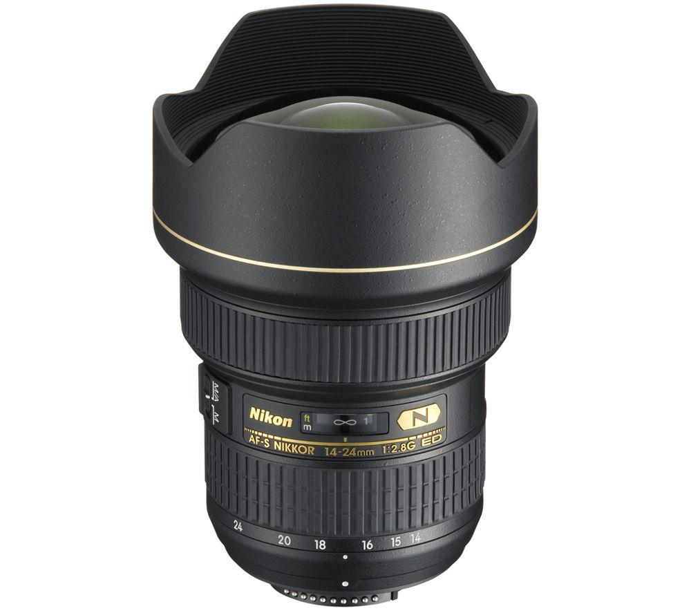 NIKON AF-S NIKKOR 14-24 mm f/2.8G ED Wide-angle Zoom Lens