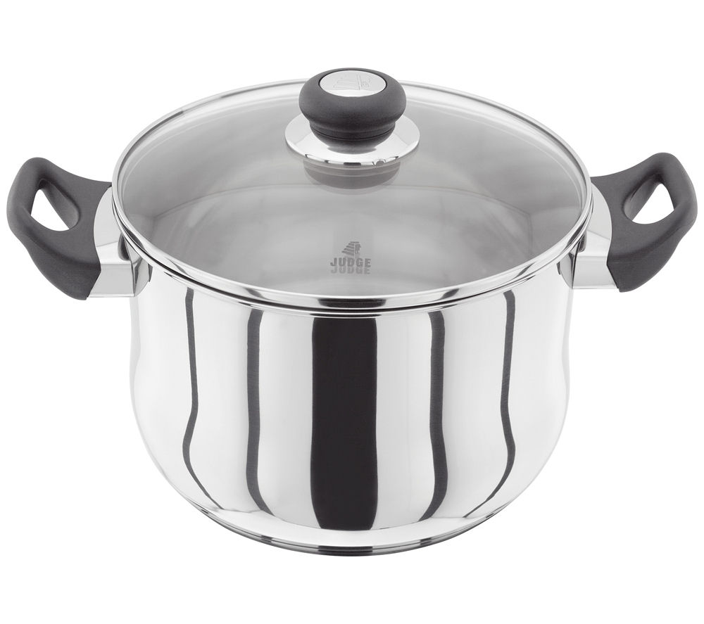 JUDGE VISTA JJ45 24 cm Stock Pot - Stainless Steel