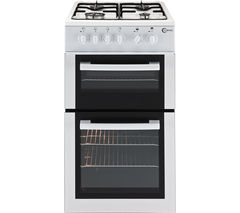 FLAVEL FTCG50W Gas Cooker - White Best Price, Cheapest Prices