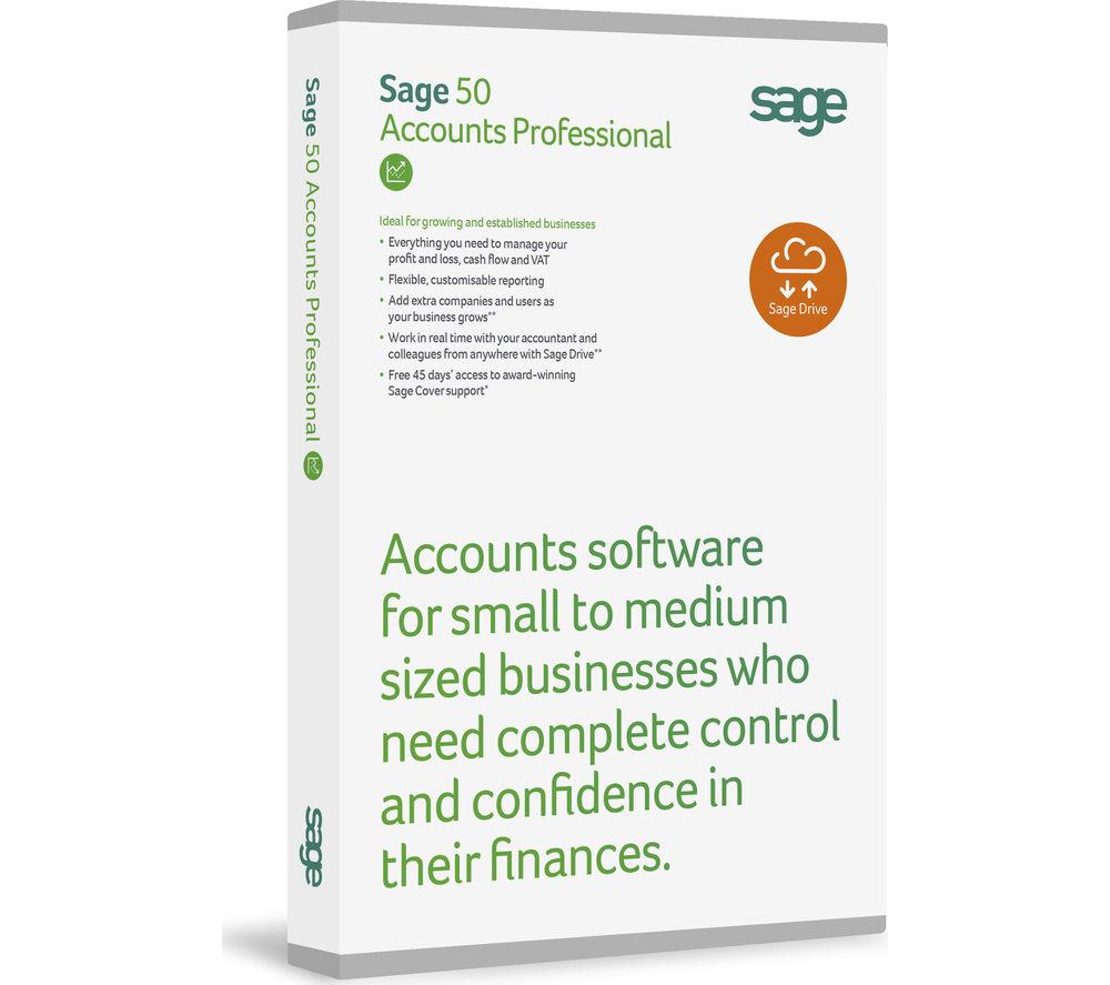 SAGE 50 Accounts Professional 2016