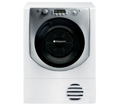 HOTPOINT Aqualtis AQC9 BF7E1 Condenser Tumble Dryer - White