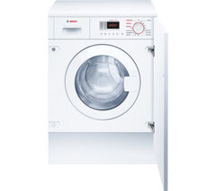 Serie 4 WKD28351GB Integrated Washer Dryer - White