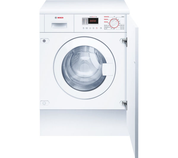 Image of BOSCH Serie 4 WKD28351GB Integrated Washer Dryer - White