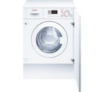 BOSCH WKD28351GB Integrated Washer Dryer - White