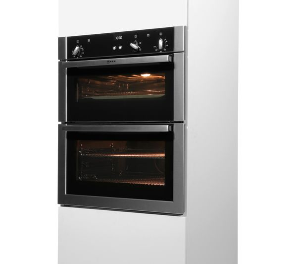 buy neff u17s32n5gb built under double oven stainless. Black Bedroom Furniture Sets. Home Design Ideas