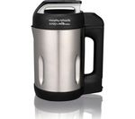 MORPHY RICHARDS 501000 Soup & Milk Maker - Stainless Steel