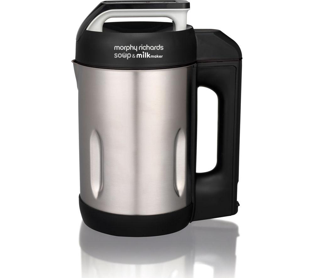 Morphy Richards Appliances: Buy MORPHY RICHARDS 501000 Soup & Milk Maker - Stainless Steel