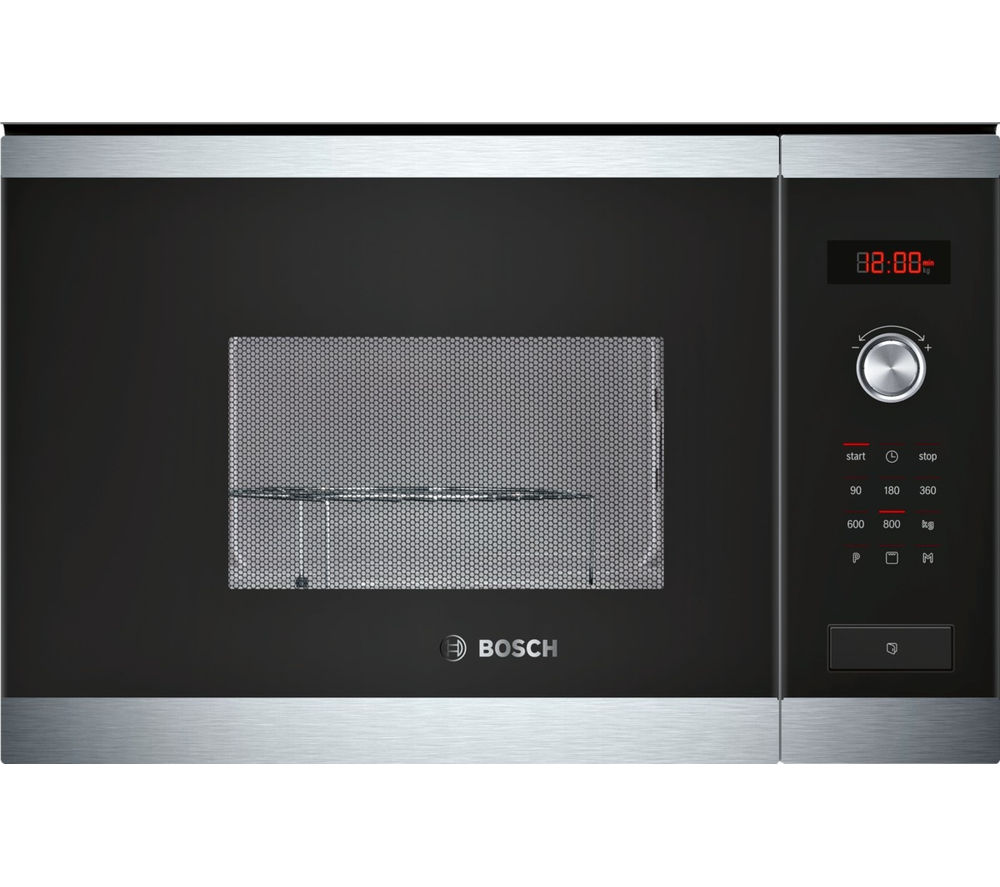 BOSCH HMT75G654B Built-in Microwave with Grill - Stainless Steel
