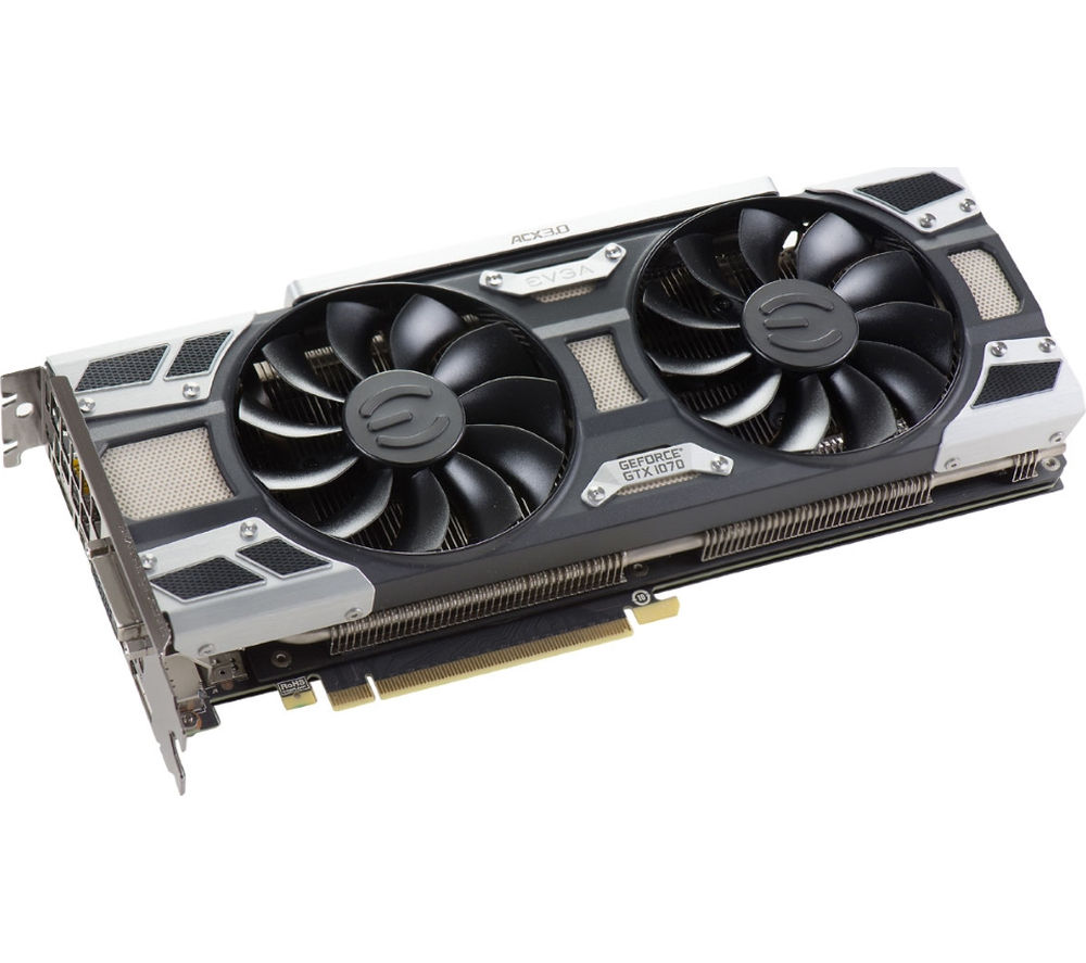 EVGA GeForce GTX 1070 8 GB SC Graphics Card