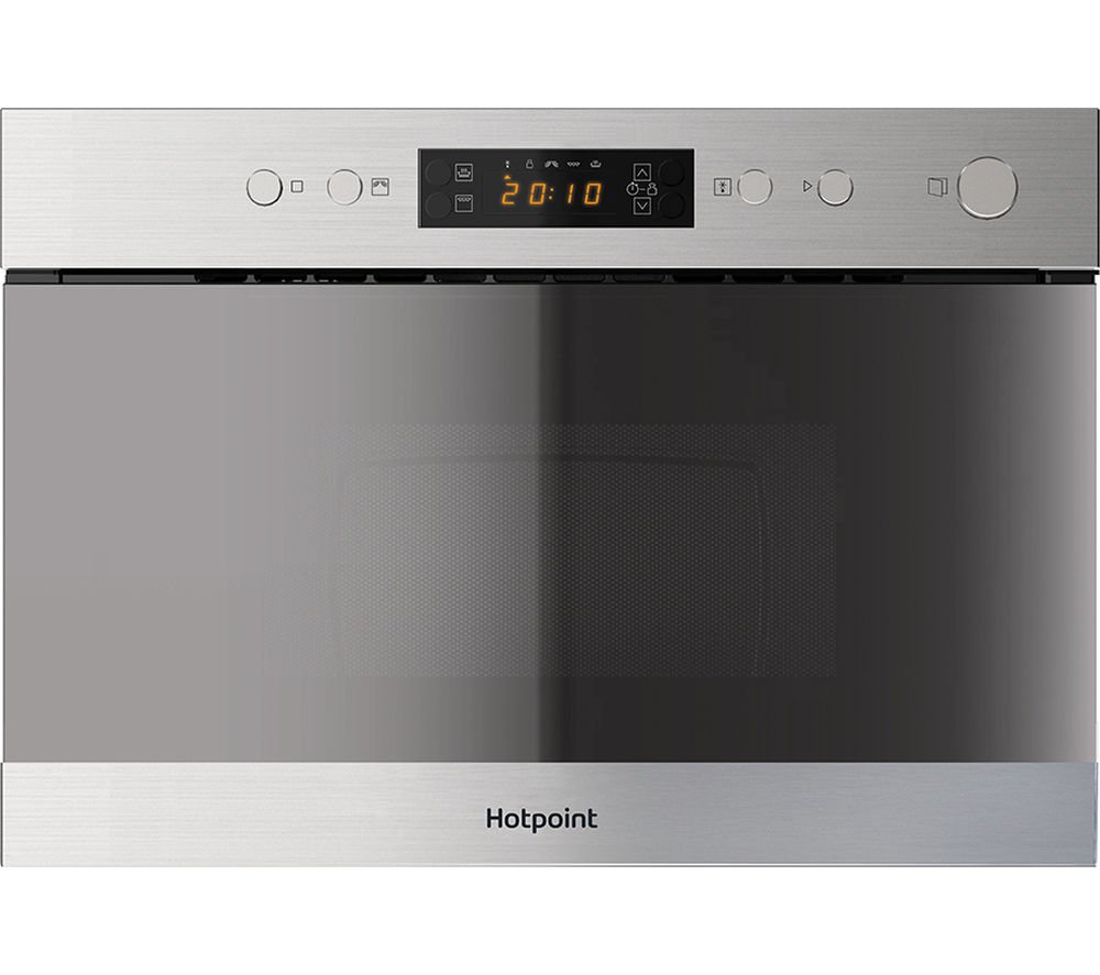 Buy Hotpoint Mn 314 Ix H Built In Microwave With Grill