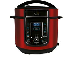 PRESSURE KING Pro Digital Pressure Cooker - Red